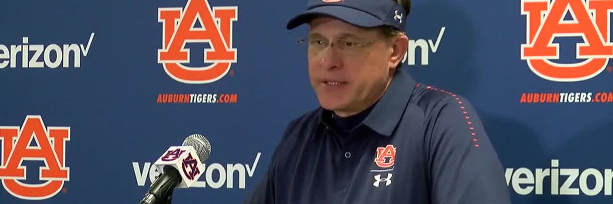 Gus Malzahn speaks after Texas A&M game
