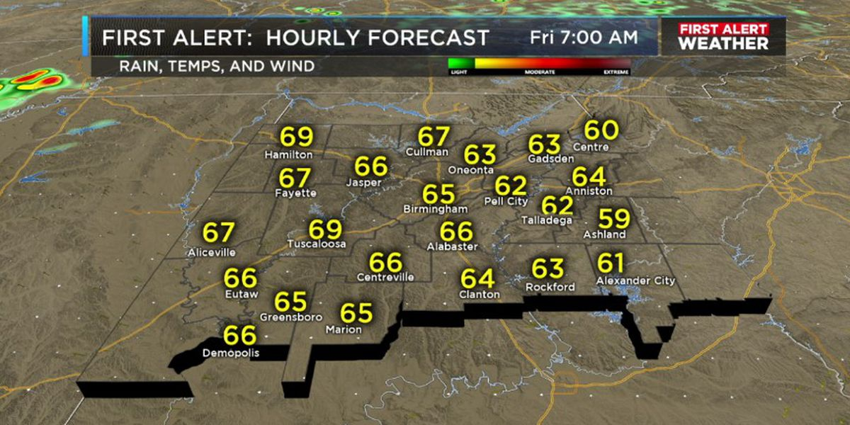 FIRST ALERT: Expect cooler temperatures Thursday night
