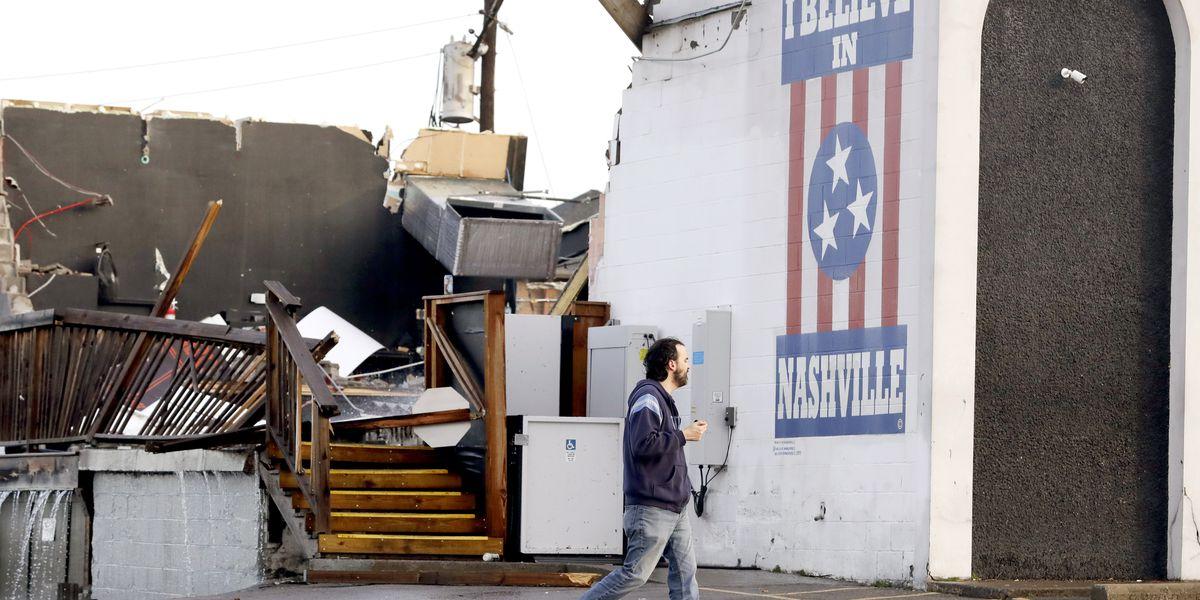 Deadly tornadoes strike Nashville, central Tennessee