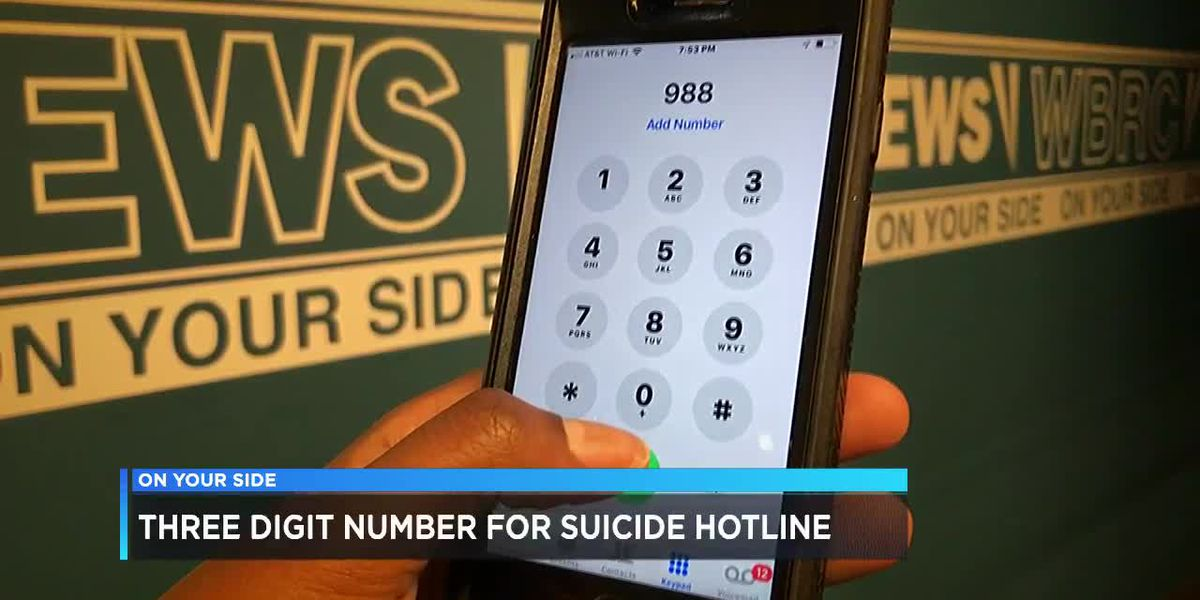 New idea proposed for 3-digit suicide hotline number