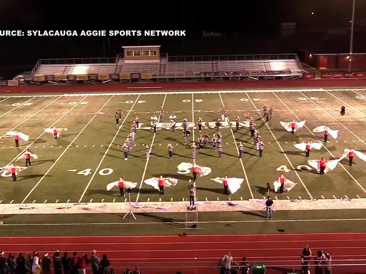 The dark side works for the Sylacauga H.S. marching aggie band