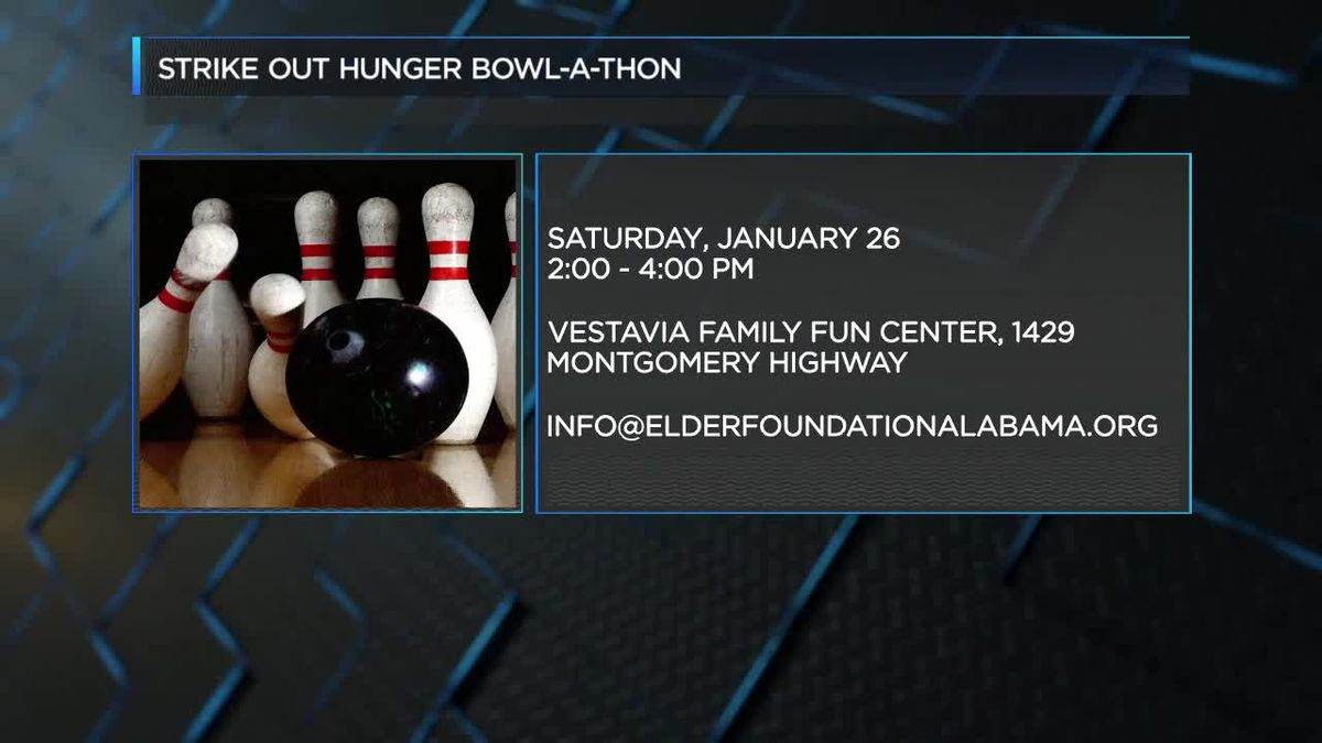 Strike Out Hunger Bowl-A-Thon at Vestavia Family Fun Center