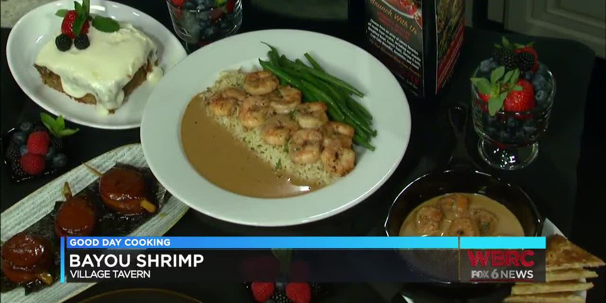 Village Tavern: Shrimp Bayou