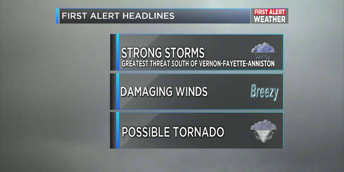 FIRST ALERT: Continuing Coverage of Severe Weather