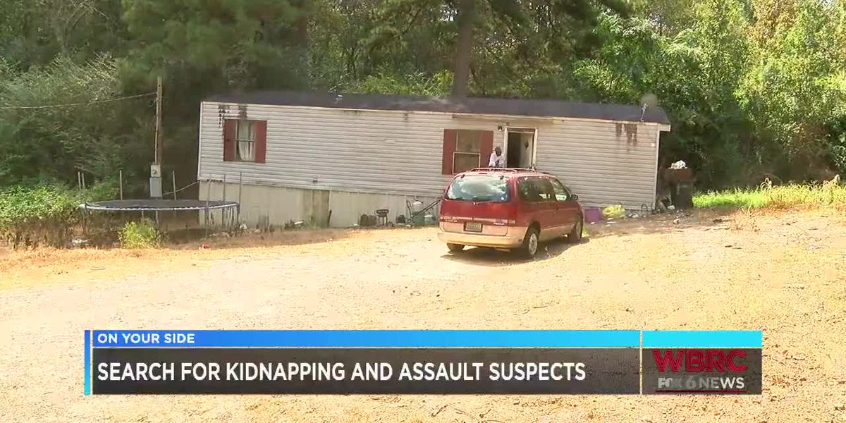 Search for kidnapping and assault suspects
