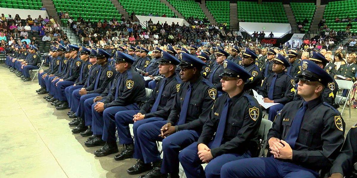 Birmingham PD graduation class largest to date