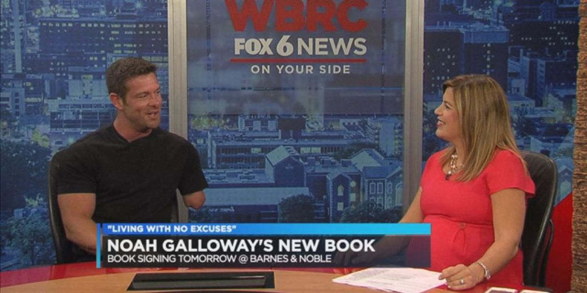 Noah Galloway's New Book