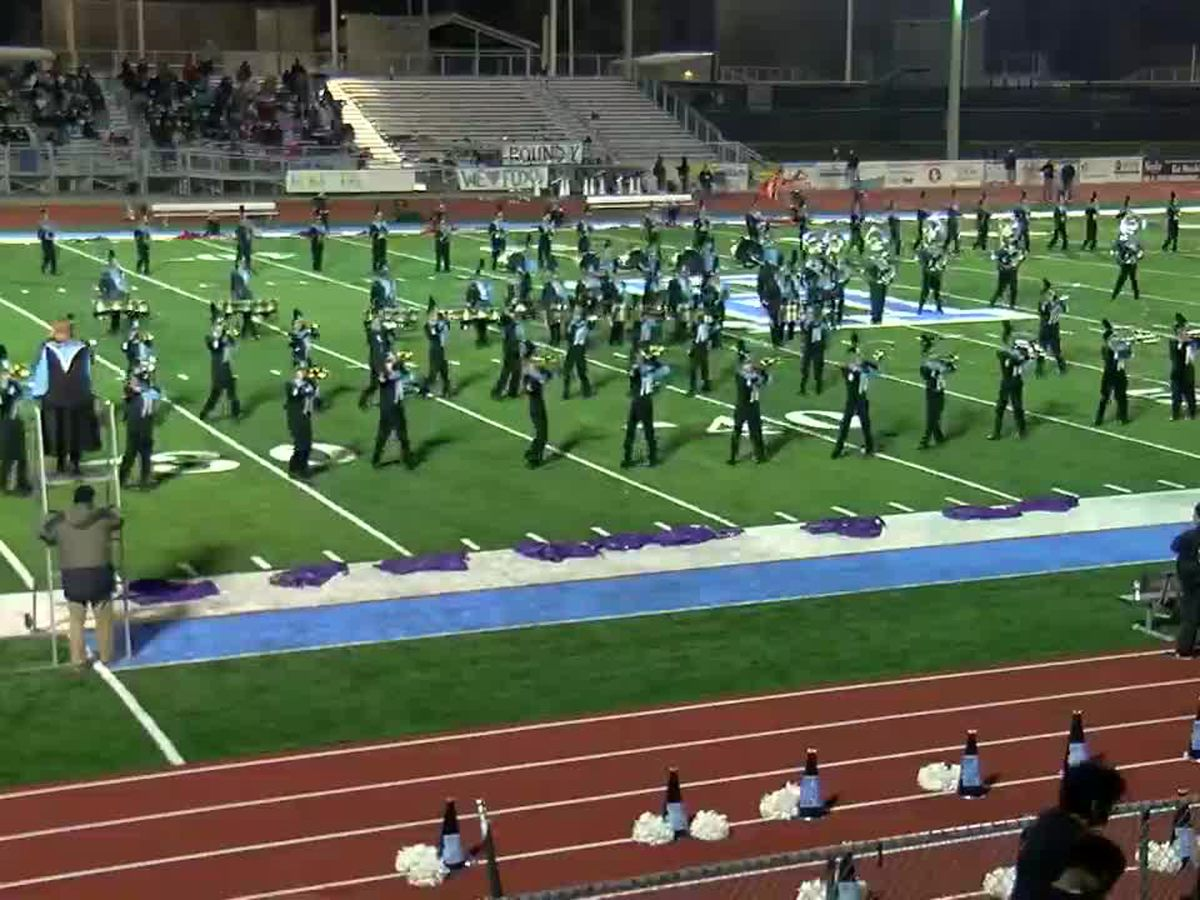 The Helena H.S. Marching Band is full of superheroes