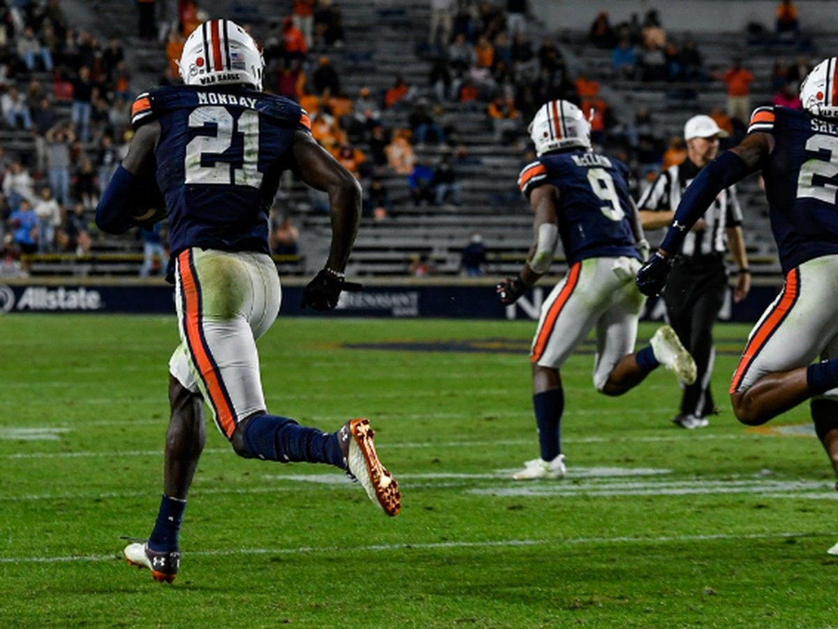 Auburn makes history with weekend games against No. 1 teams