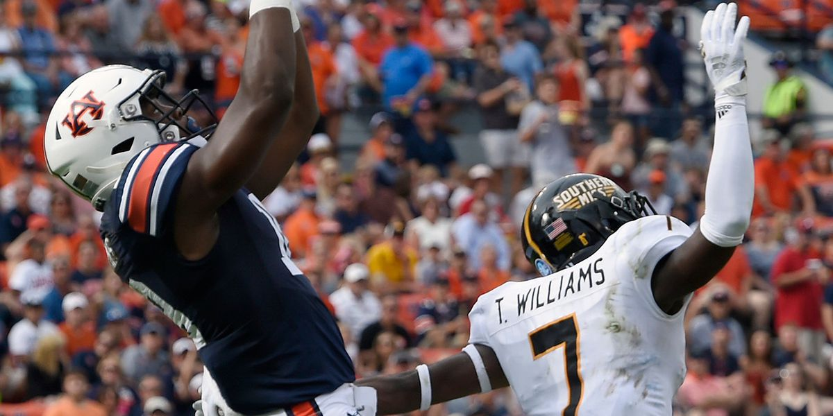 No. 10 Auburn hangs on after near 3-hour delay to beat Southern Miss