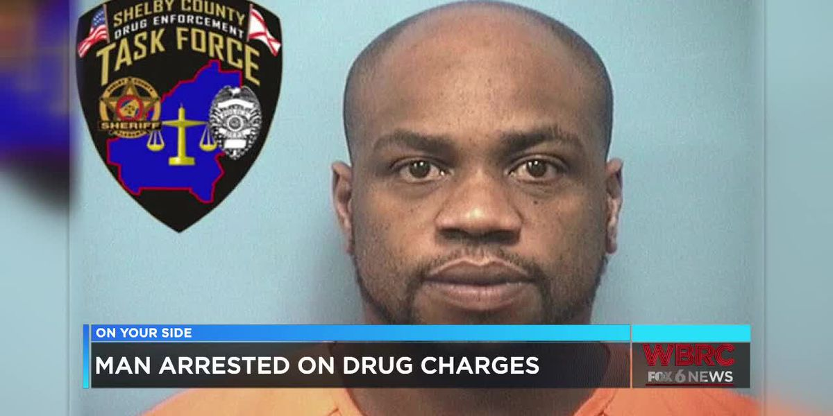 Man arrested on drug charges