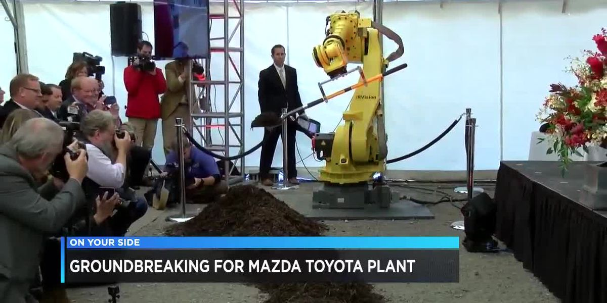 Groundbreaking for Toyota-Mazda plant