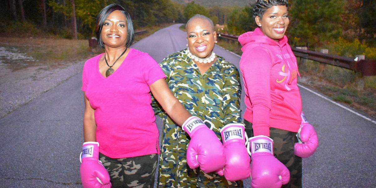 Breast cancer survivors' beautiful photo shoot