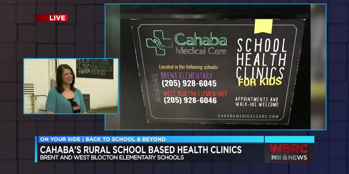 Cahaba's Rural School Based Health Clinics