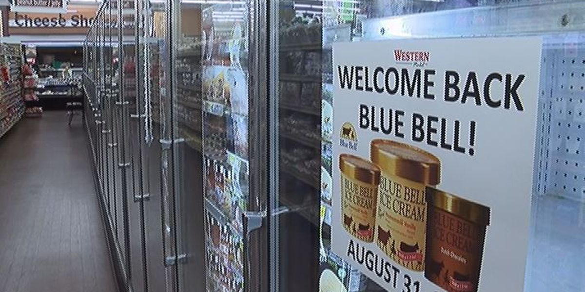 Blue Bell is back in AL stores today