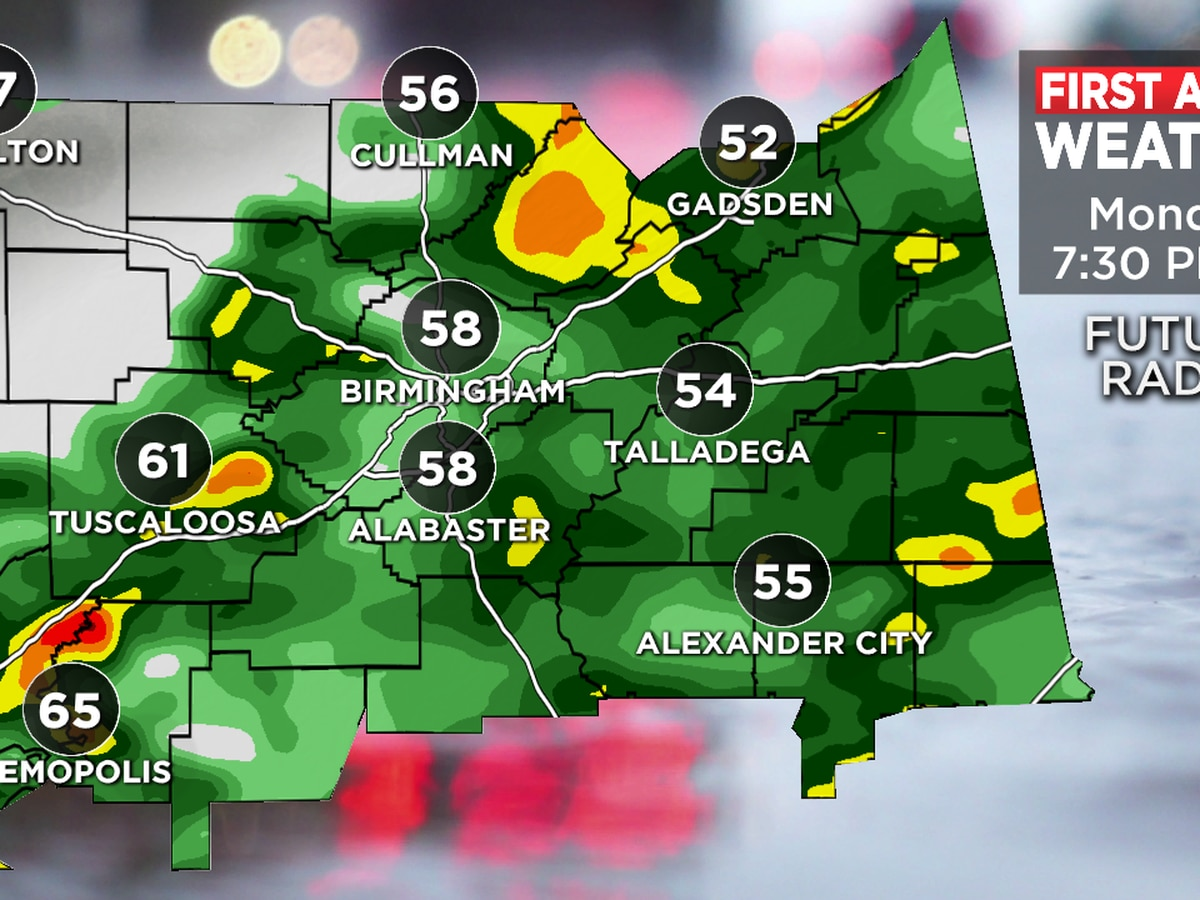 FIRST ALERT: Dry weather Tuesday, rain could return Wednesday