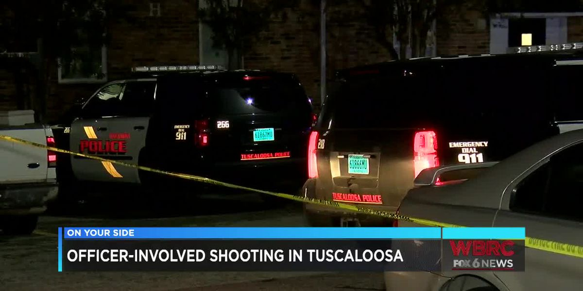 Tuscaloosa officer-involved shooting