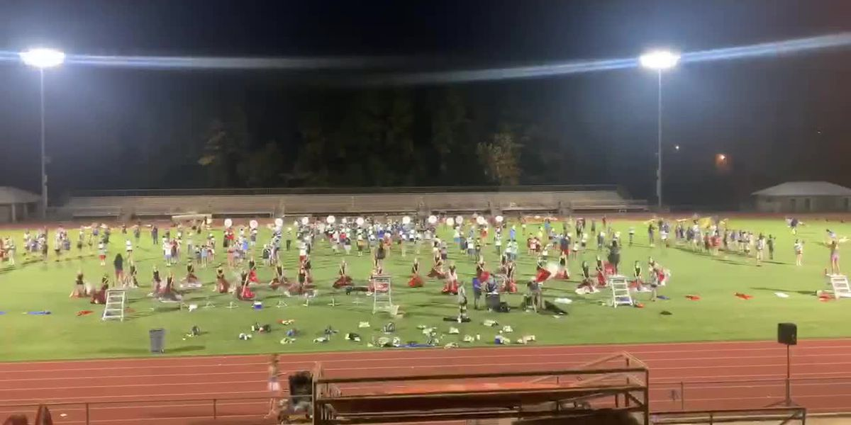 Bigger is better for the Homewood HS Patriot Band