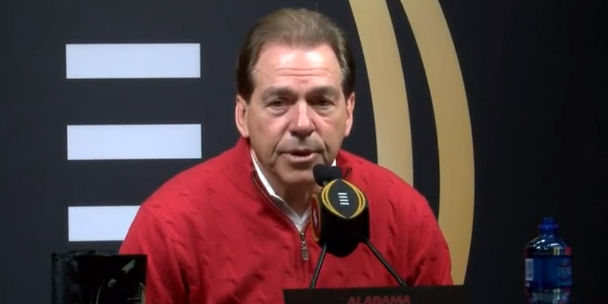 VIDEO: Watch Nick Saban's full press conference at CFP Media Day 2019