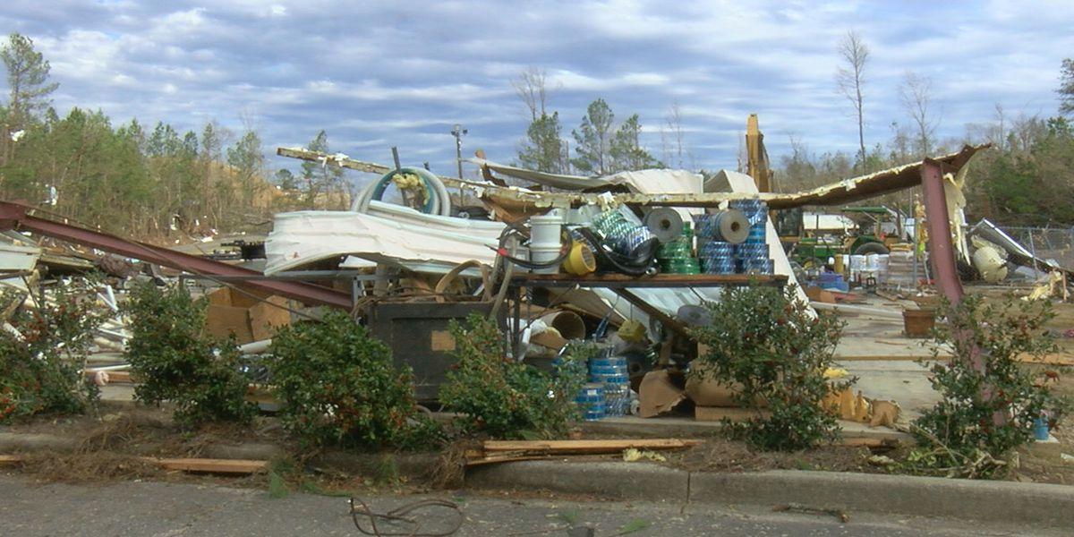 Bama Utility Contractors hit hard by tornado