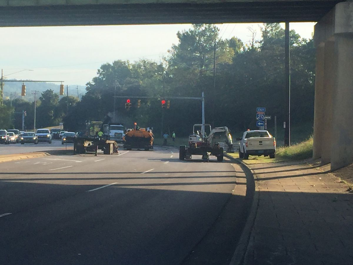 Oporto-Madrid Blvd. eastbound I-20 off ramp closing for repairs