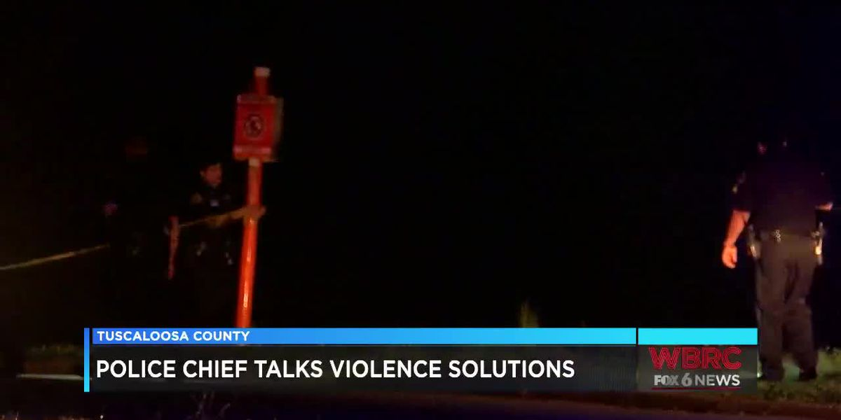 Tuscaloosa's police chief talks about how to solve the violence