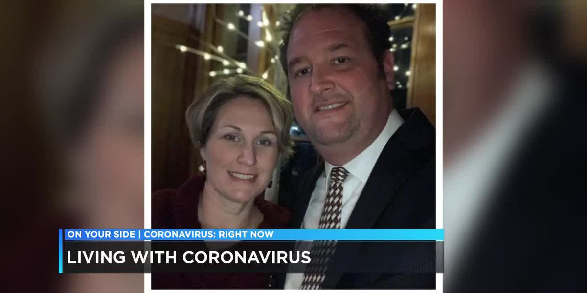Woman deals with coronavirus alongside her family
