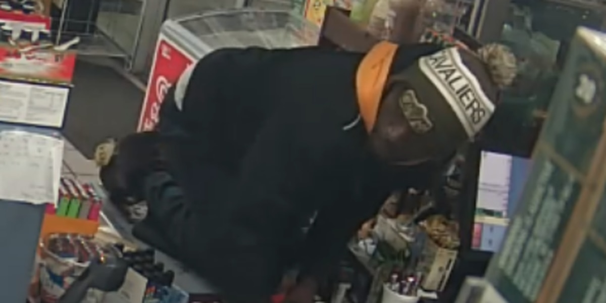 Man wanted in Chevron gas station robbery; clerk fights him off with broom