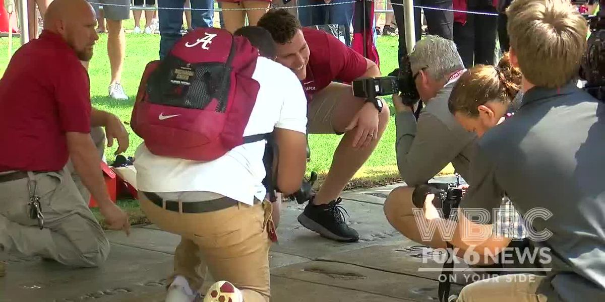 Alabama honors 2018 captains in Walk of Fame ceremony