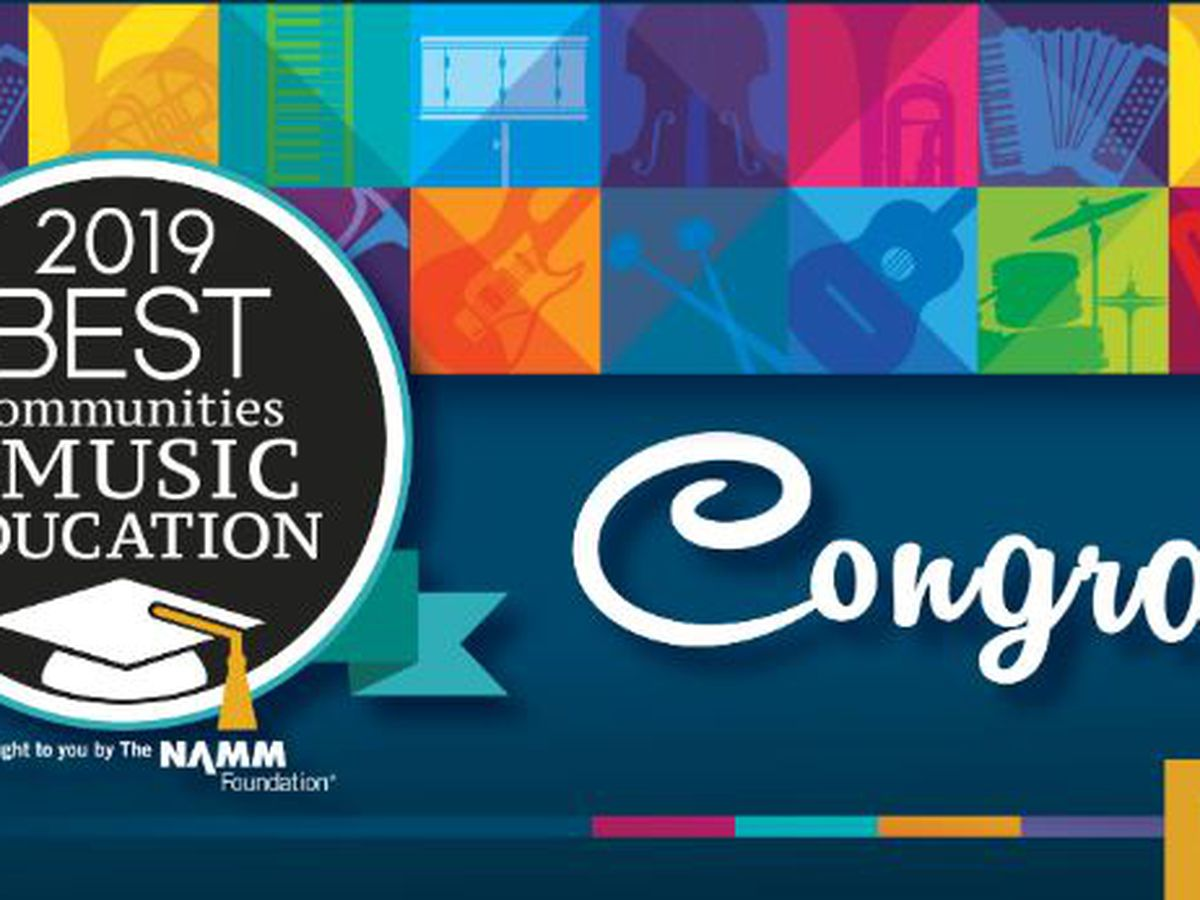 NAMM Foundation 2019 Best Communities for Music Education