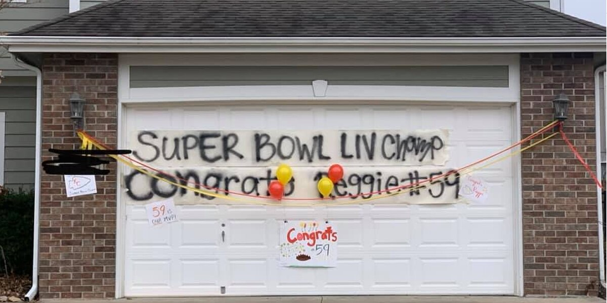 Reggie Ragland has great neighbors!