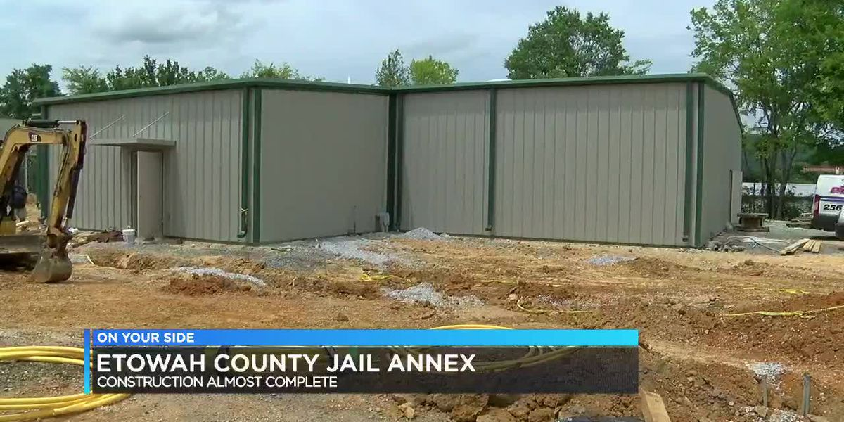 Etowah County Sheriff says new jail annex will hopefully curb contraband