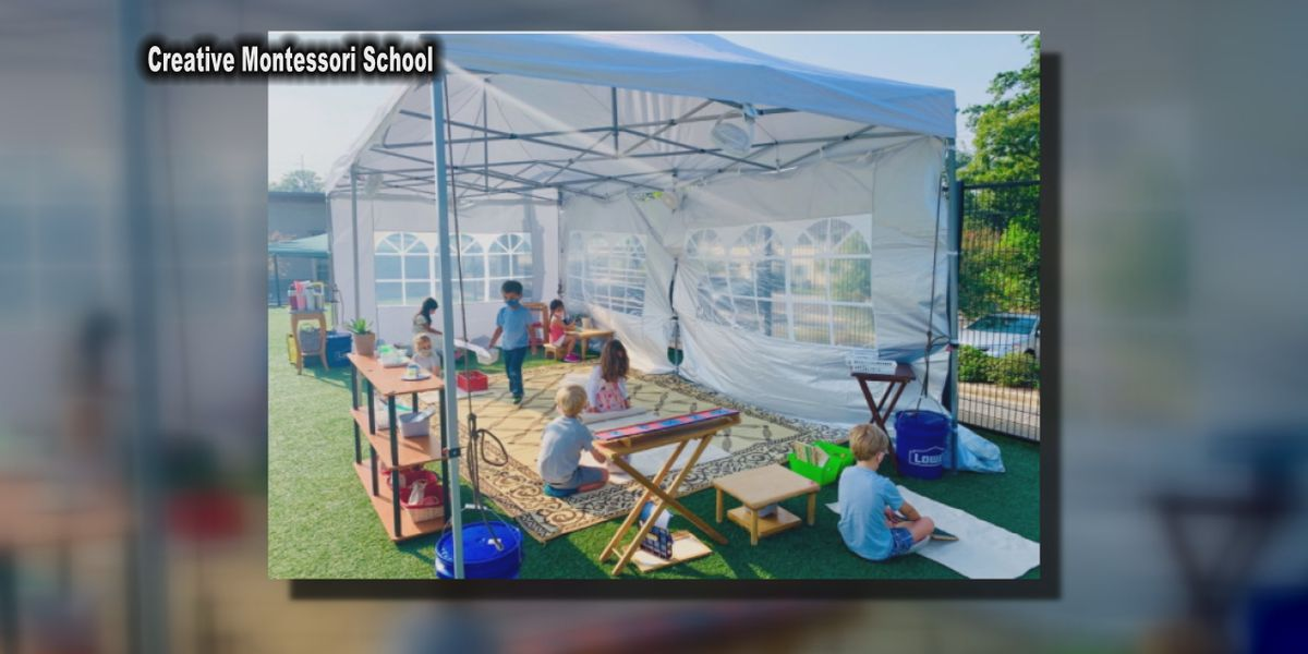 Homewood school moving classes outside to keep students, teachers safe