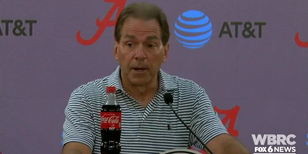 WATCH: Nick Saban press conference - 10/8