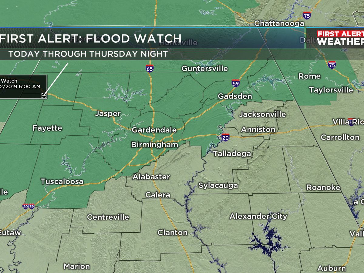 FIRST ALERT: Excessive rainfall expected Tuesday through Friday
