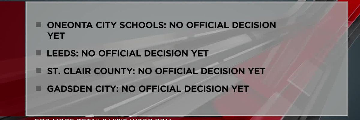 Schools deciding if masks will be required after April 9