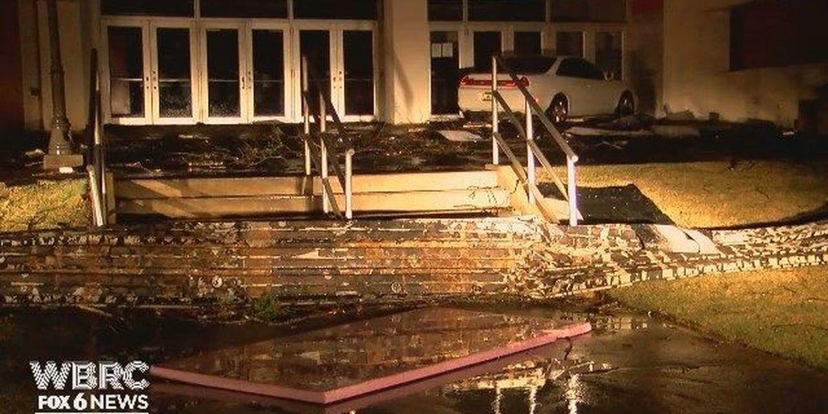 Coliseum at Jacksonville State damaged during storm