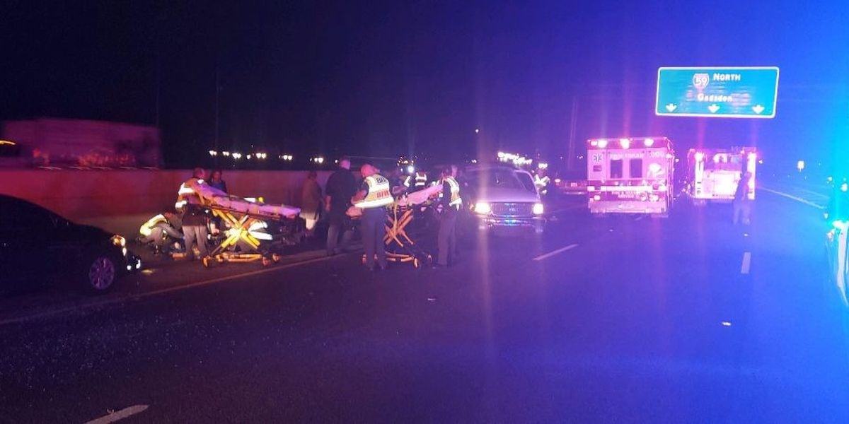 3 children ejected from vehicle in accident on 59/20 eastbound