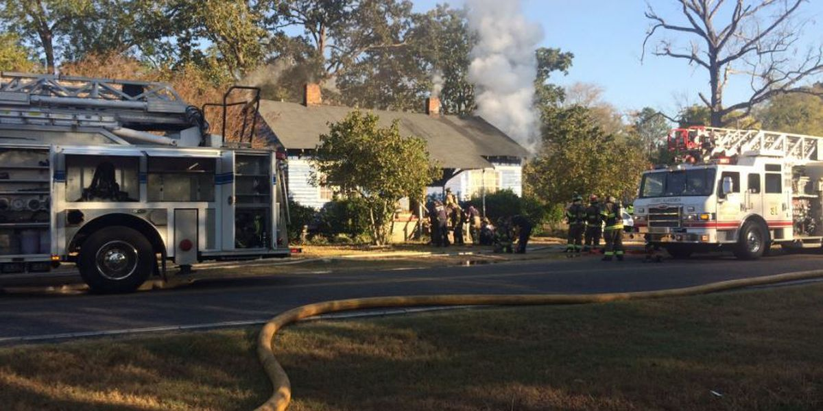 West Tuscaloosa house fire under investigation