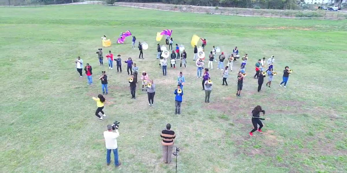 VIDEO; Parker H.S. Marching Band