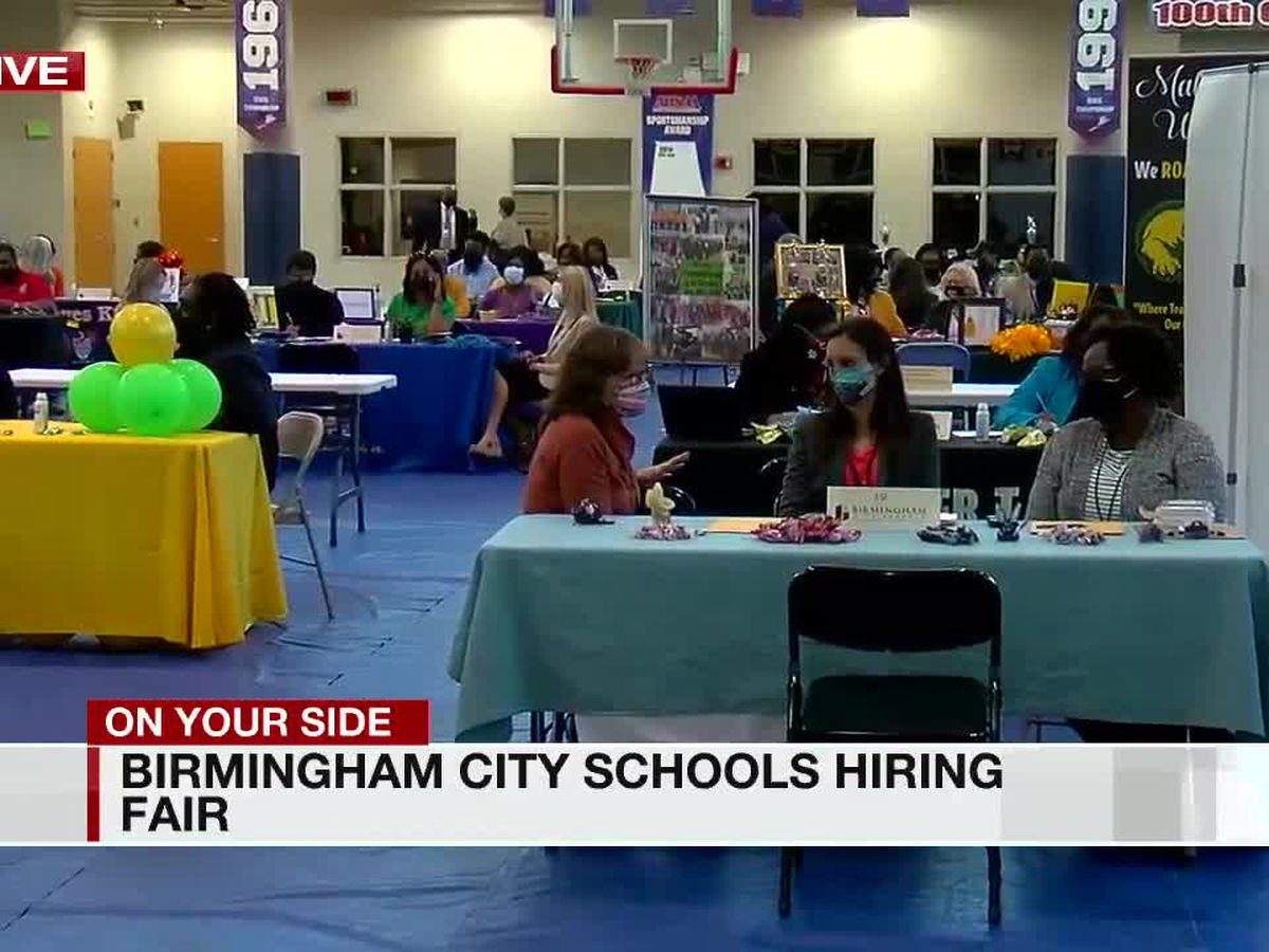 Birmingham City Schools looking to fill open positions, hosts job fair