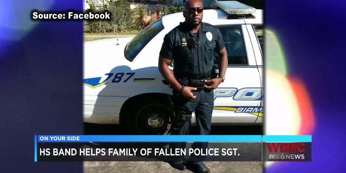 High School band helps family of fallen police sergeant