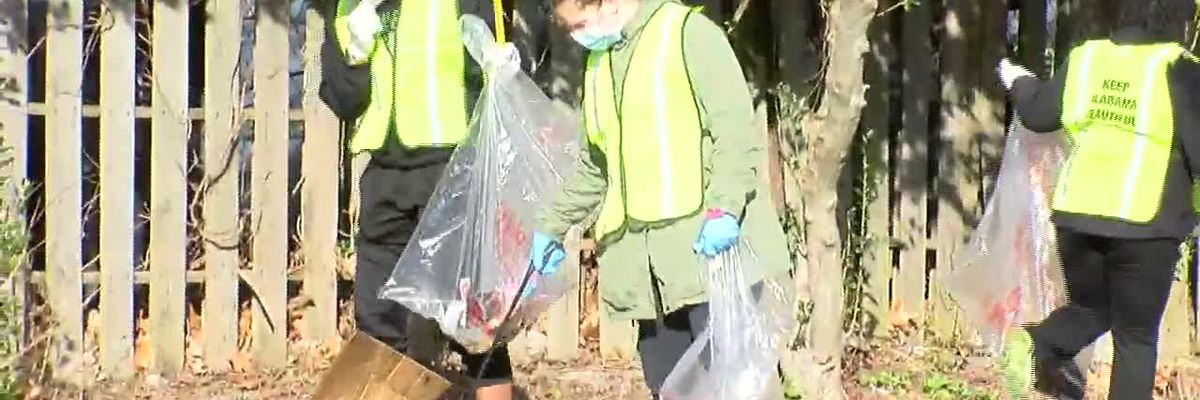 MLK Day Service Project in Center Point