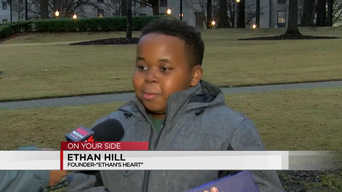 Ethan Hill receives award for profound impact in B'ham homeless community