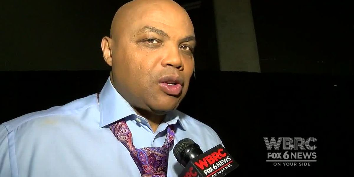 Charles Barkley talks about stage set-up before Final Four game