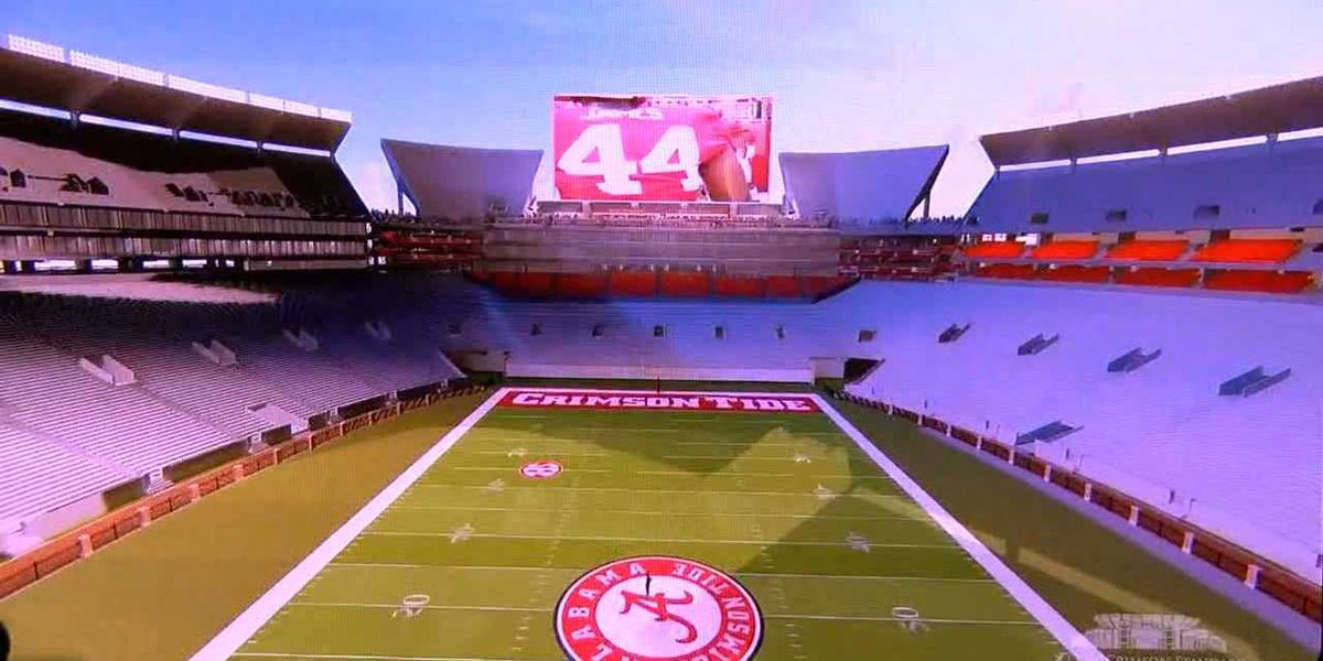 University of Alabama unveils 10-year, $600 million plan to renovate athletic facilities