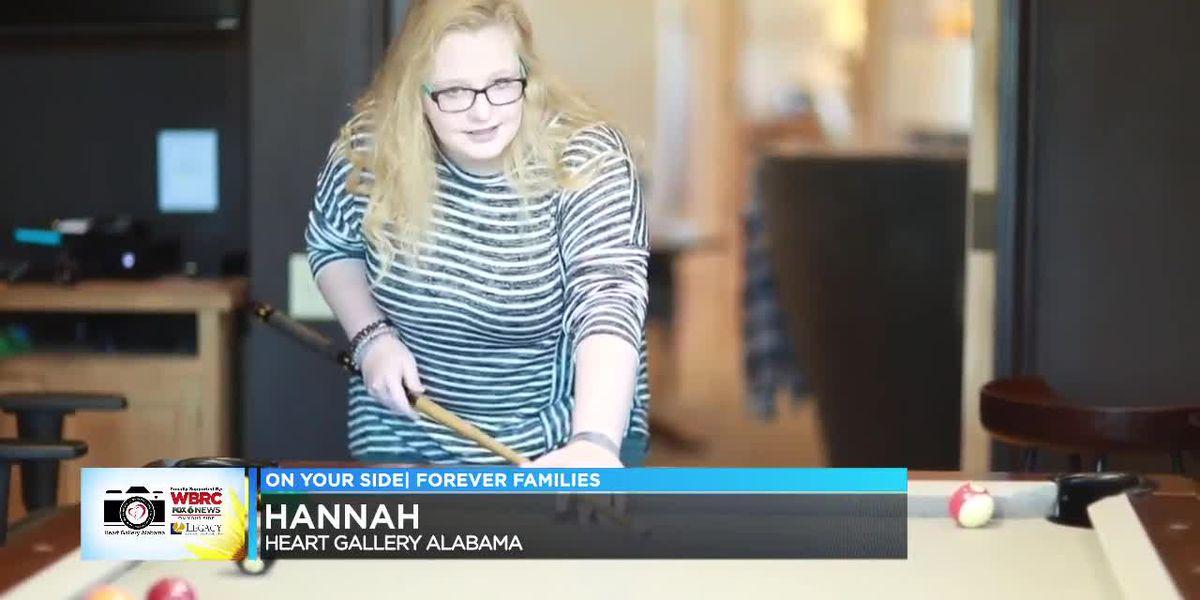 Heart Gallery Alabama: Hannah