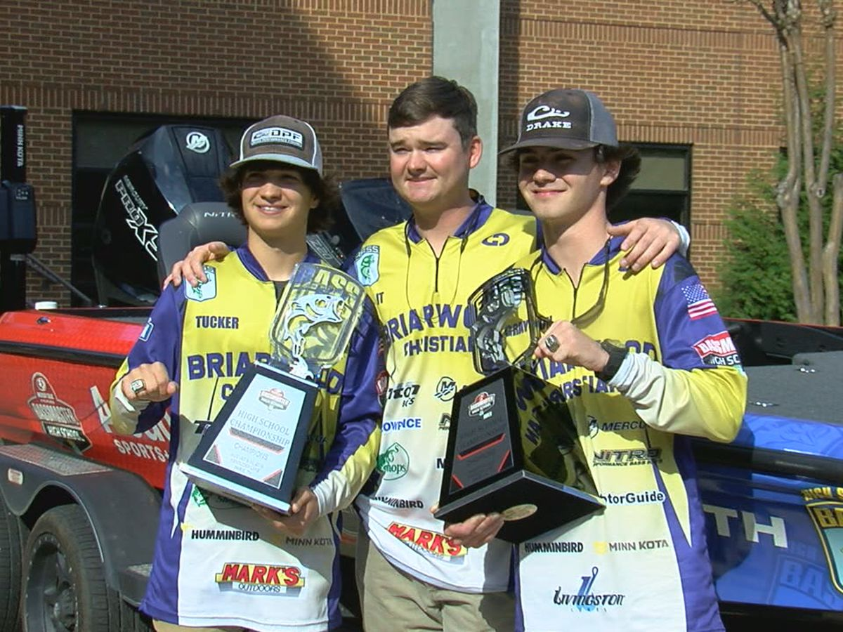 Briarwood Christian anglers Grayson Morris, Tucker Smith to compete in Bassmaster Classic