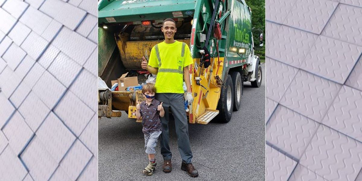Young boy shows appreciation for B'ham waste management workers