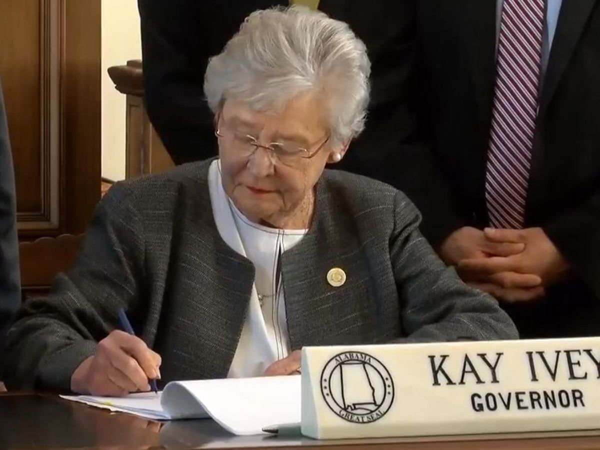 With Ivey's signature, AL raises fuel taxes for first time since 1990s